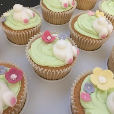 Bunny Cup Cakes